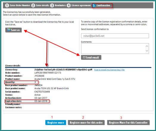 My Networking Portal – Licenses | Aruba Blogs