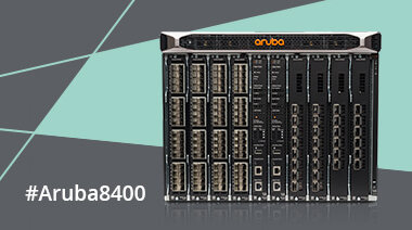 Game-Changing Business Agility with the New Aruba 8400