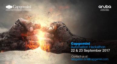 Capgemini's Automation Hackathon powered by Aruba