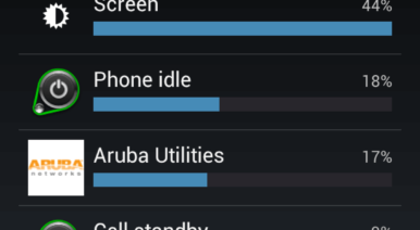 Two days' battery life from the Galaxy Nexus
