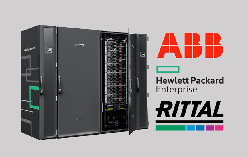A complete self-contained data center with all you need.