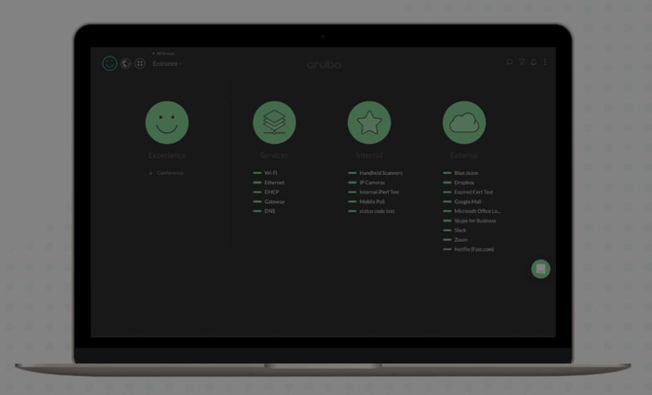 Cape Networks stoplight dashboard