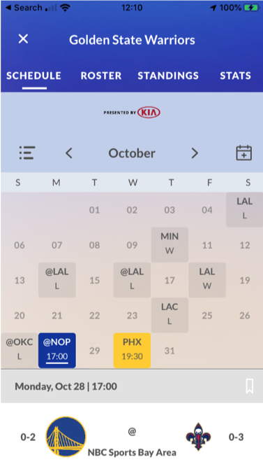 Chase Center mobile ticketing