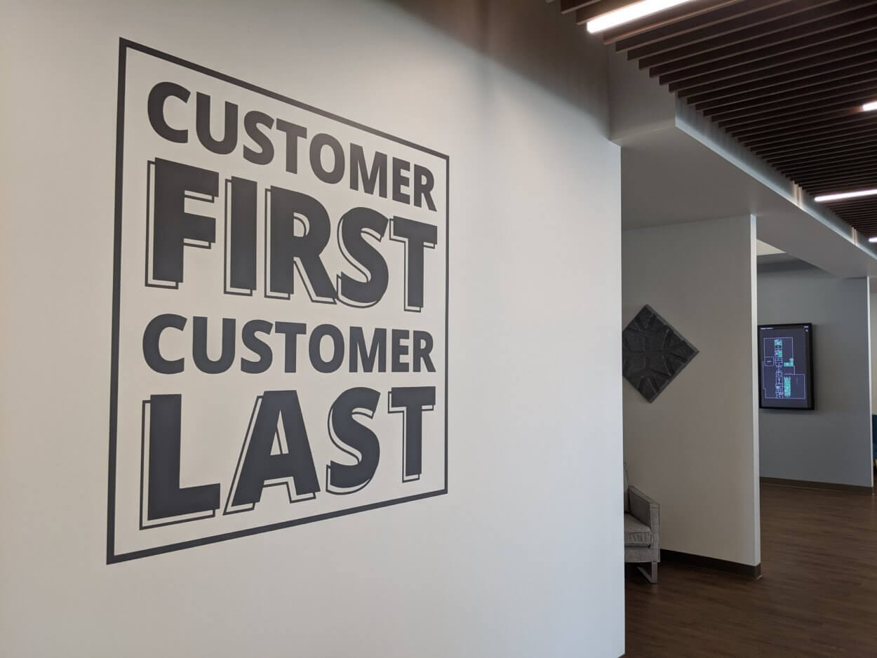 Customer First, Customer Last