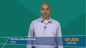 Partha Narasimhan, CTO, Aruba, at Tech Field Day 20