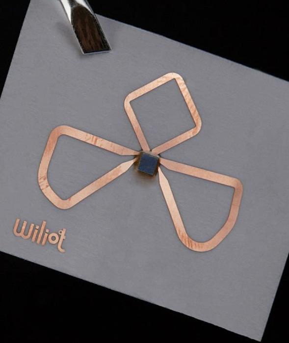 Wiliot Bluetooth stickers
