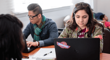 Students at Fresno Pacific University use Aruba networking