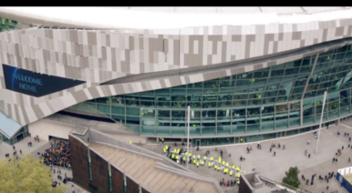 Tottenham Hotspurs Stadium Premier League