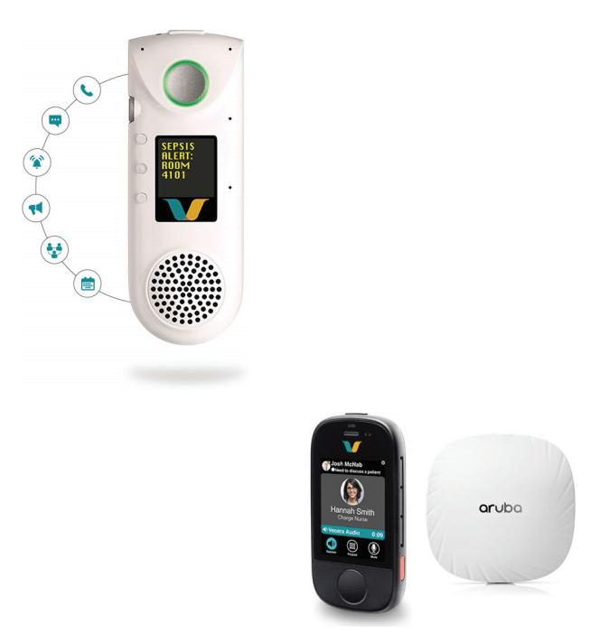 Vocera Communication Badge and Smartbadge