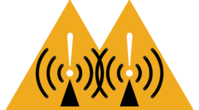 Source: https://commons.wikimedia.org/wiki/File:Radio_waves_hazard_symbol.svg
