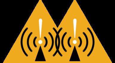 Source: https://commons.wikimedia.org/wiki/File:Radio_waves_hazard_symbol.svg